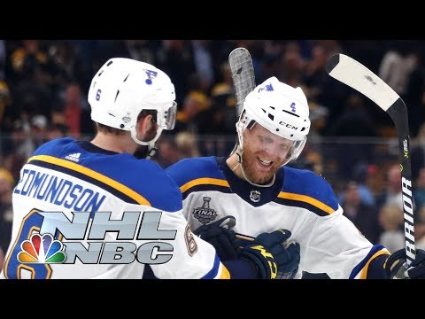 NHL Stanley Cup Final 2019: Blues Vs. Bruins | Game 2 Extended Highlights | NBC Sports