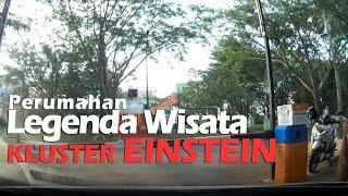 Jalan Jalan Sore ke Cluster Einstein di Perumahan Legenda Wisata Cibubur