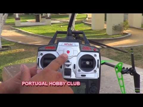 MJX F-45 Rc HELICOPTER .UNBOXING.REVIEW.TEST.(EN ESPAÑOL)