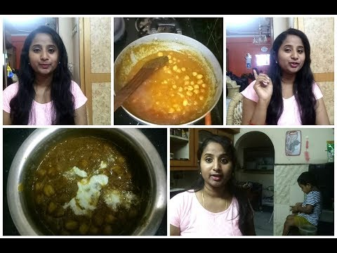 Preparing Chana Masala/Chole Curry for Dinner | Hair care Tips for Silky Smooth Hair | Must Try