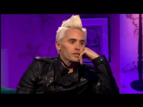 jared leto on alan carr chatty man