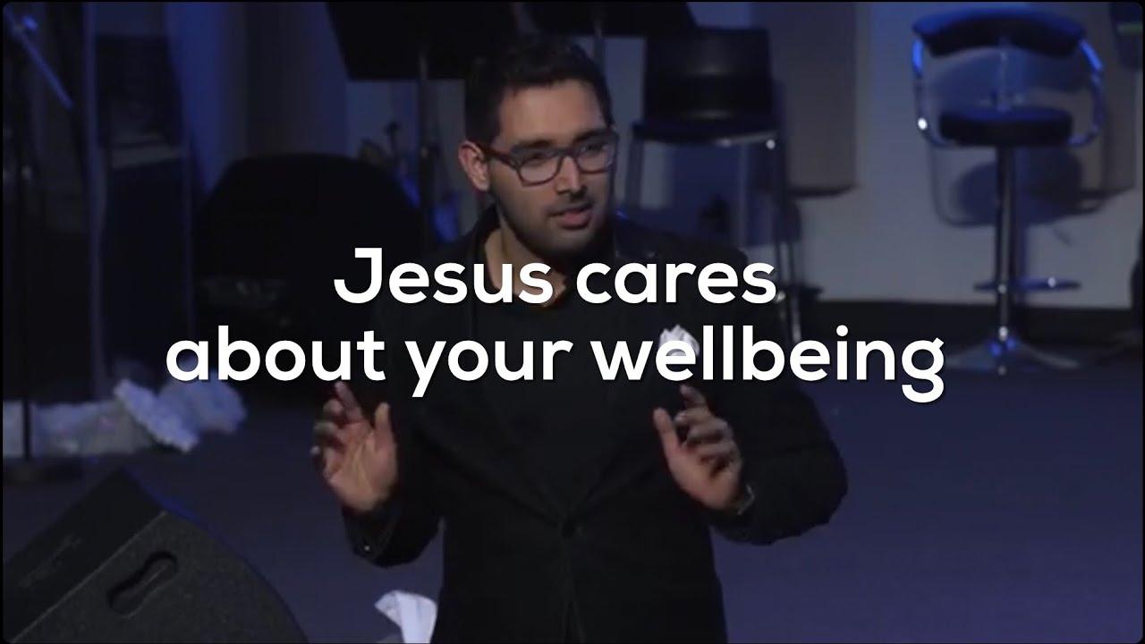 Jesus cares about your wellbeing