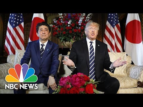 President Donald Trump: North And South Korea 'Have My Blessing' To Discuss An End To War | NBC News