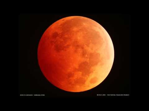 8 October 2014: Total Lunar Eclipse – live event