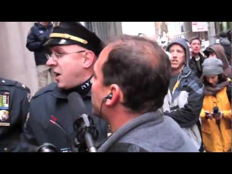 AMAZING video of a journalist not taking crap from NYPD