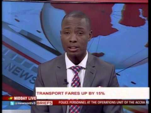 MiddayLive - Transport fare up by 15%  - 1/2/2016