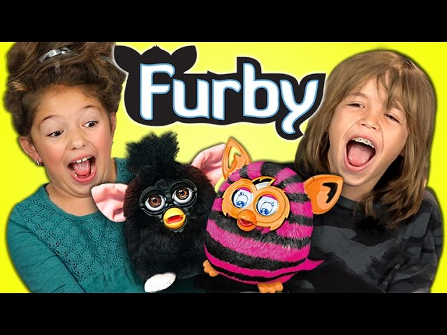 KIDS REACT TO FURBY