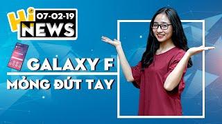 Galaxy F lộ ảnh viền siêu mỏng, Xperia XA3 màn hình tràn đáy I Hinews