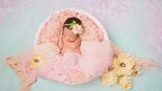 NEWBORN PHOTO SESSION Highlights with a Beautiful 4lb Tiny Baby Girl