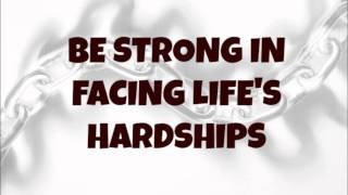 Ed Lapiz - Be Strong in Facing Life