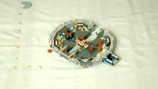 Thumb El Millenium Falcon armado paso por paso con Lego