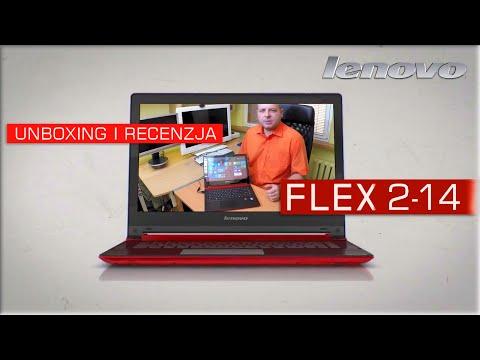 Laptop Lenovo Flex 2-14 - Najładniejszy Konwertowalny Notebook Dla Kobiet - Unboxing Recenzja PL