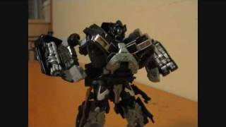 Transformers Hunt for The Decepticons Deluxe Class Ironhide Stop Motion