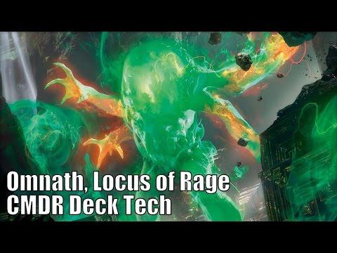 Eric's Omnath, Locus of Rage CMDR Deck [EDH / Commander / Magic the Gathering]