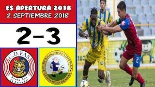 CD FAS [2] vs. M.Limeño [3] FULL GAME: 9.2.2018: ES Apertura 2018