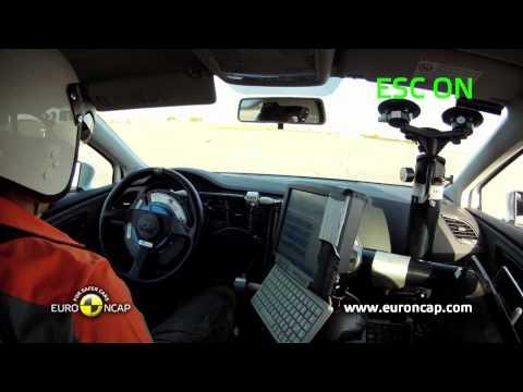 Euro NCAP | Seat Leon | 2012 | Электронный контроль устойчивости