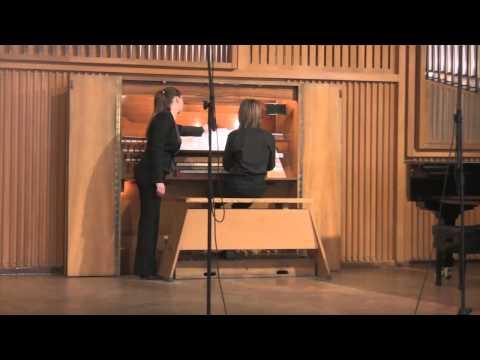 Бах Иоганн Себастьян - BWV 946 - Фуга (до мажор)