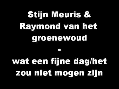 Stijn Meuris - wat een fijne dag/het zou niet mogen zijn