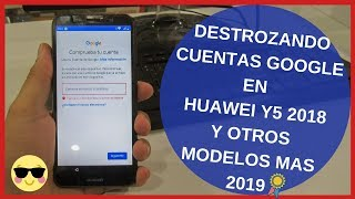 quitar cuenta google huawei y5 2018 dra-lx3   y otros modelos mas😉