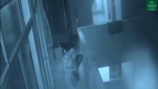 CCTV: Jealous aunt throws infant off hospital roof in Kanpur-TV9