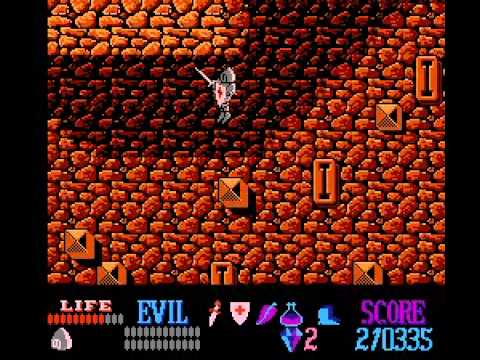 Wizards & Warriors - Wizards and Warriors (NES) - User video