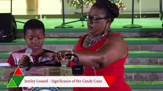 ECCB Campus Lighting Ceremony - Significance of the Candy Cane