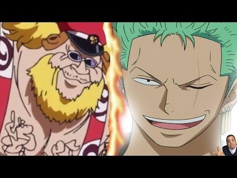 One Piece 770 Manga Chapter ワンピース Review -- Zoro Vs Pica/Machvise & Luffy Vs Sakura