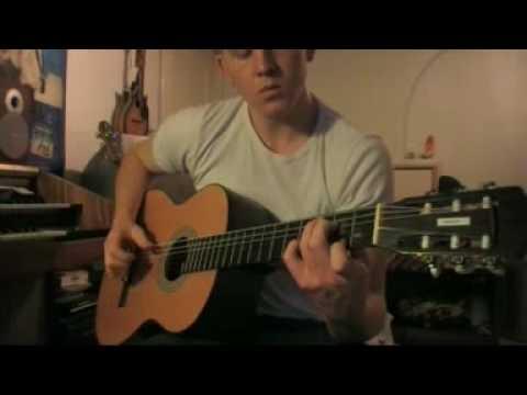 Super Mario Bros. 3 Underwater Theme On Acoustic Guitar #1