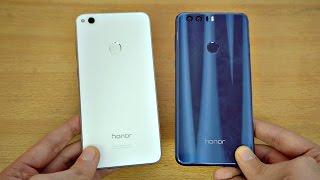 Huawei Honor 8 Lite vs Honor 8 - Review & Camera Test! (4K)