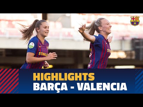 [HIGHLIGHTS] Women's (Liga): FC Barcelona – Valencia CF (3-0) thumbnail