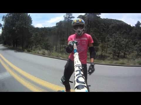 Longboarding Mxico: DH AJUSCO fun run