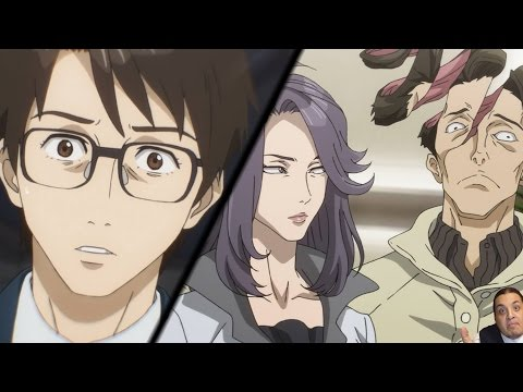 Parasyte The Maxim Episode 3 寄生獣 セイの格率 - Kiseijū - Anime Review -- Shinichi Vs Tamiya's A
