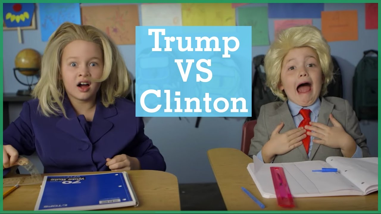 Donald Trump vs Hillary Clinton | Intro To… | The Holderness Family