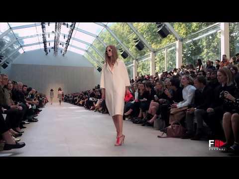 """BURBERRY PRORSUM"" Fashion Show Spring Summer 2014 London HD by Fashion Channel"