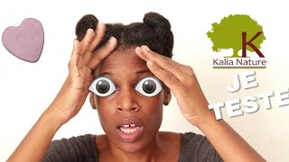 CRASH TEST KALIANATURE CHEVEUX CREPUS 4A 4B 4C NATURAL HAIR MILIES HAIRSTYLE