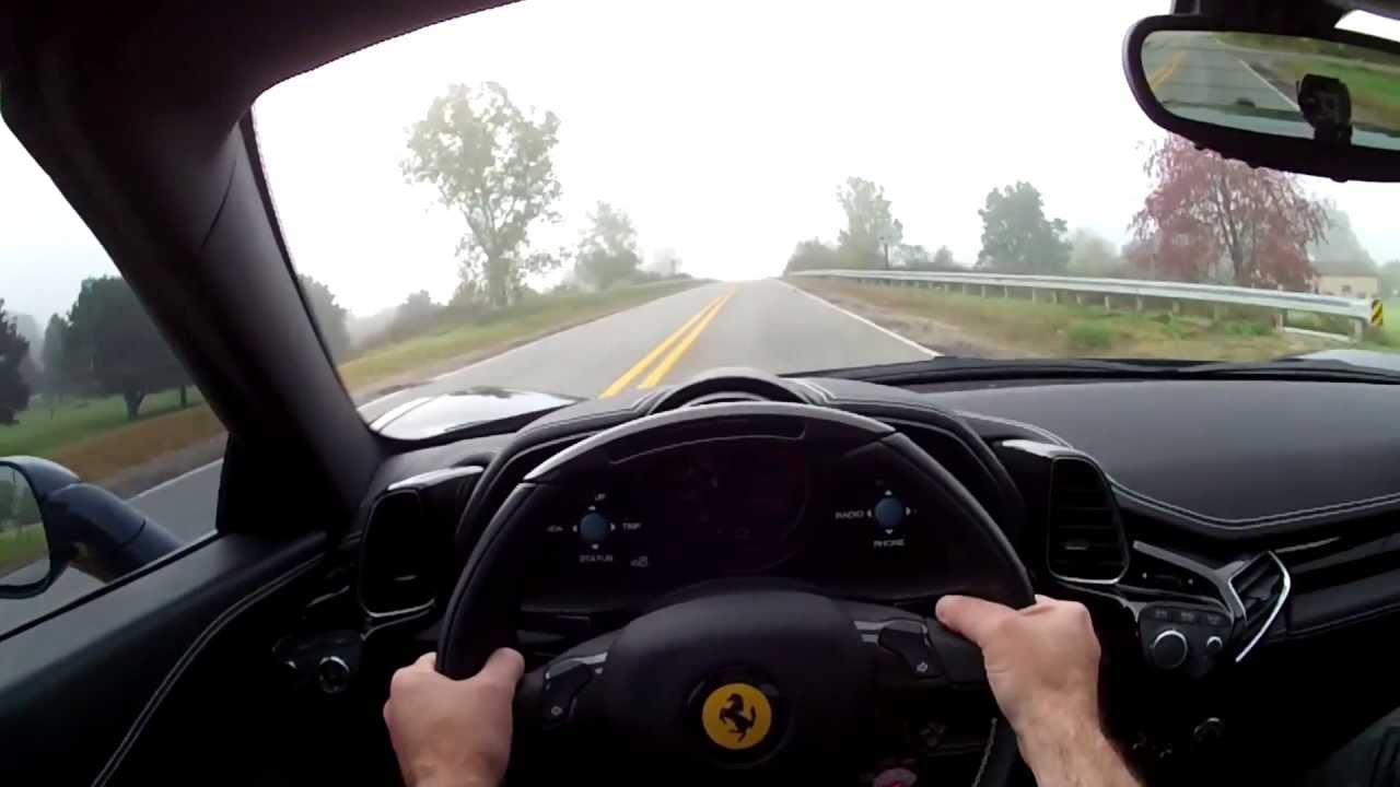 2014 Ferrari 458 Spider Wr Tv Pov Test Drive Youtube