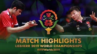 Ma Long vs Kanak Jha   2019 World Championships Highlights (R64)