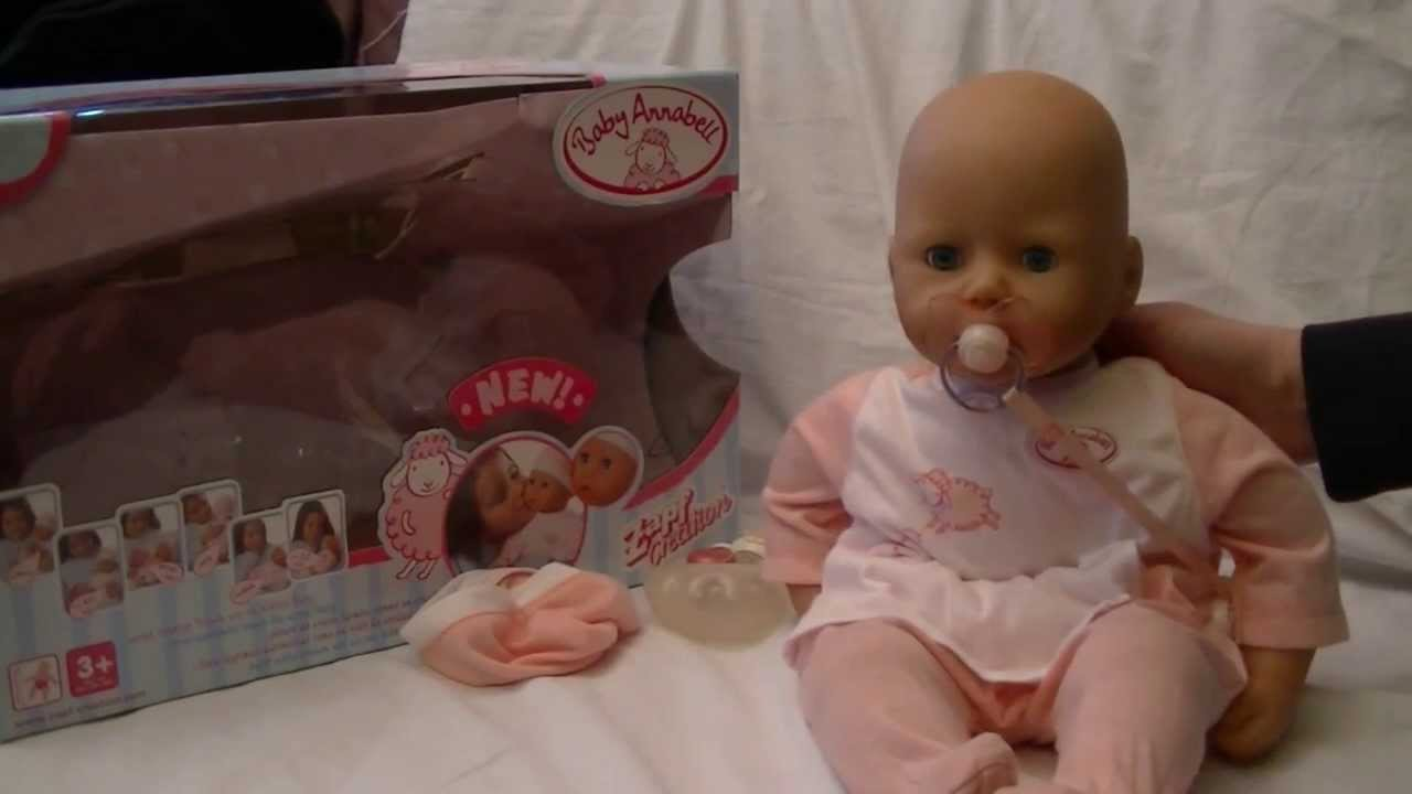 Süße Puppe Baby Annabell * Review * Zapf Creation * 2005 ...