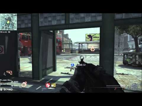 Modern Warfare 3 | Full Game of Survival Mode on UNDERGROUND ( Wave 1 - 22 )