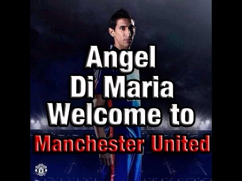 MANCHESTER UNITED  HAVE SIGNED ANGEL DI MARIA! MY THOUGHTS!