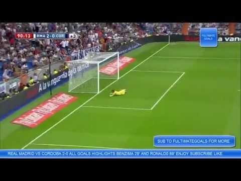 REAL MADRID VS CORDOBA 2014 HIGHLIGHTS HD (2-0)