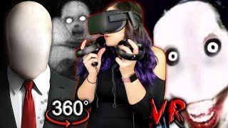 Slender Man in VR?! | Creepypasta 360 Reaction (Scariest So Far)
