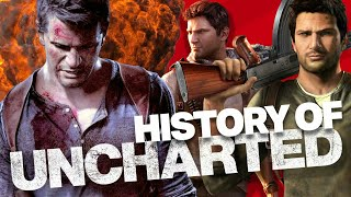 History And Évolution Of Uncharted (2007-2019) New !