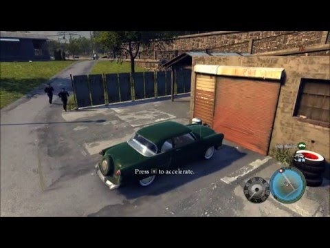Mafia 2 Demo Gameplay/Free Roam