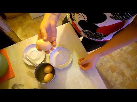 чтобы свежее куриное яйцо легко чистилось
