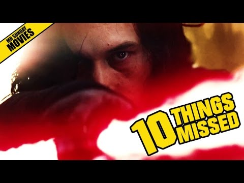 STAR WARS: THE LAST JEDI Teaser Trailer - Things Missed & Easter Eggs