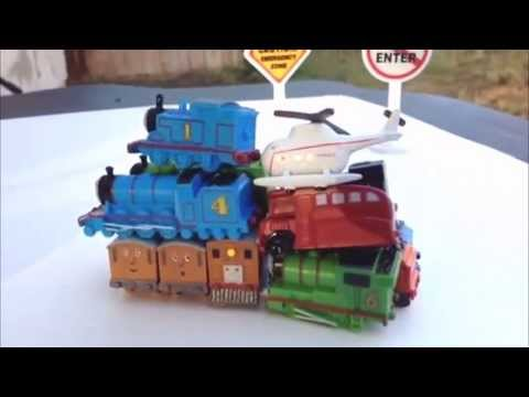 Thomas and Friends Nano Trains Toby, Henry, Percy, James like Surprise Eggs PleaseCheckOut channel