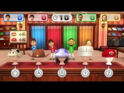 Wii Party U - Mad Hatters