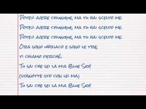 Gemitaiz & MadMan - Blue Sky (lyrics by Sara)