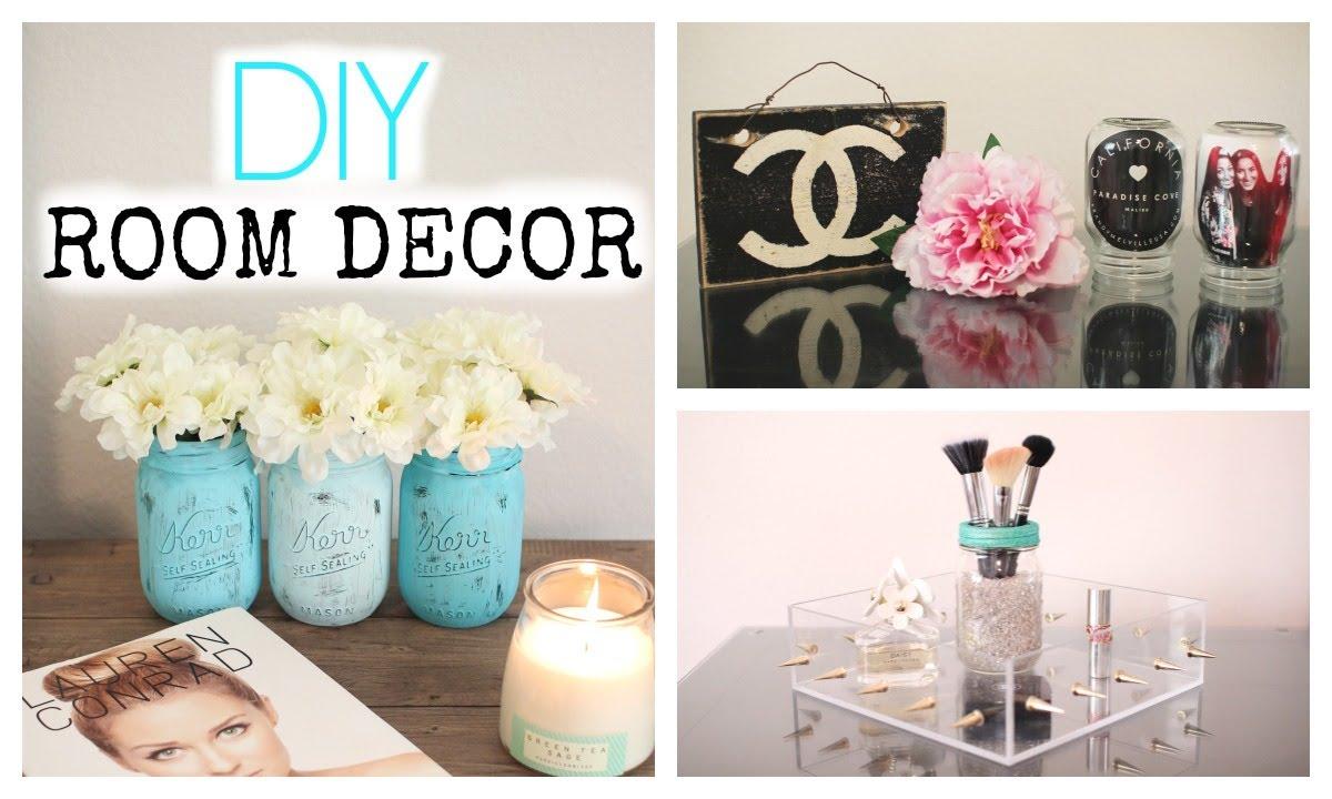 Diy Mason Jar Room Decor Cute Amp Affordable Youtube